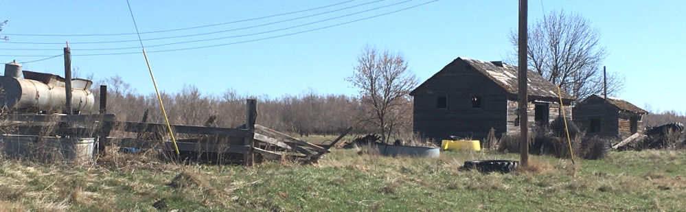 Old, Abandoned North Dakota Farm