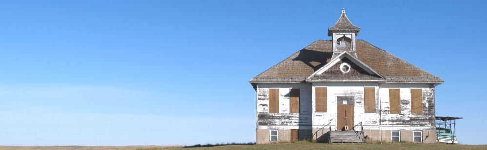 An Old North Dakota School House